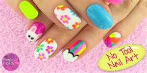 Beautiful and cute nail art designs tutorial step by