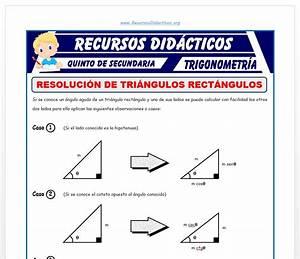 Resolucion De Triangulos Rectangulos Pdf Files