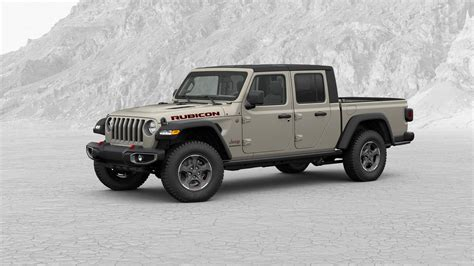 jeep gladiator pickup truck configurator      colors automobile magazine