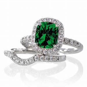 the most beautiful wedding rings emerald green wedding With emerald wedding ring sets