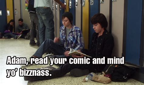 adam stay out of it - Degrassi Misfits {Adam/Eli/Clare ...