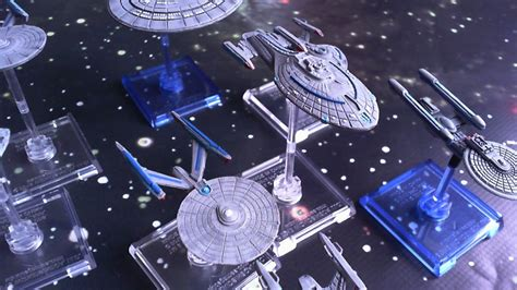 Painting Federation For Star Trek Attack Wing