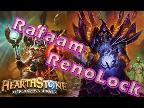 Hearthstone  Rafaam Renolock Warlock  Constructed Deck