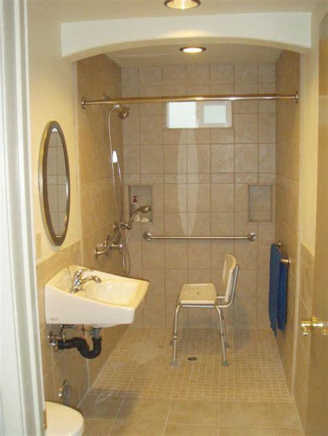 handicap walk in shower best 25 handicap bathroom ideas on ada