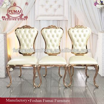 king  queen wedding furniture pu leather upholstered dining chair buy upholstered chair