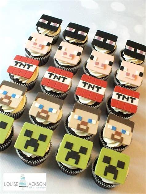minecraft cupcakes party ideas