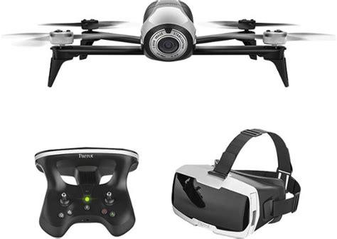 parrot bebop  quadcopter  skycontroller   cockpit fpv glasses white bbr  buy