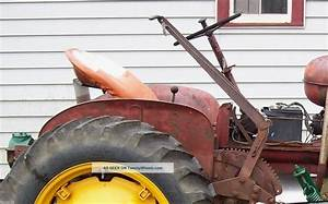 Massey Harris Pony Tractor Came With Factory Pacer Rear