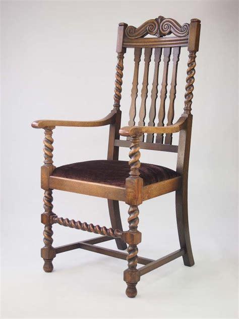 Oak Armchair by Oak Armchair Circa 1930s For Sale