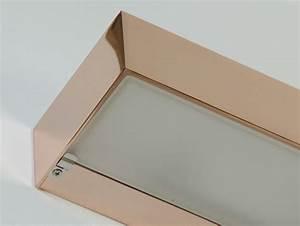 Leuchte Für Spiegel : up down wandleuchte aus kupfer f r bad und spiegel ~ Whattoseeinmadrid.com Haus und Dekorationen