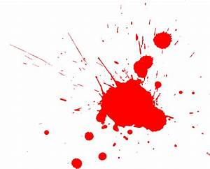 Red splatter vector