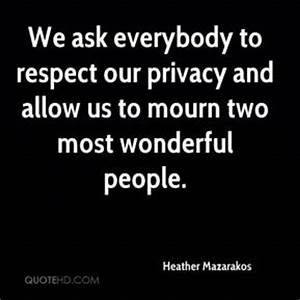 Allow Quotes - ... Respect Privacy Quotes