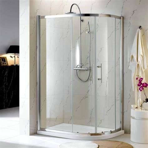Glass Shower Enclosure Kits by 60 Finished Shower Enclosures Practical Sets For Showers