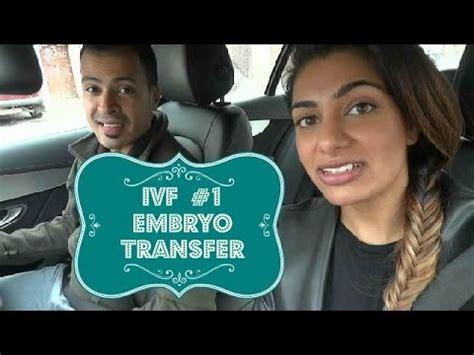 ivf  embryo transfer youtube