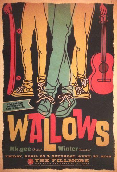 Wallows - The Fillmore - April 26 & 27, 2019 (Poster ...