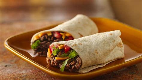 Beef Burritos recipe from Betty Crocker