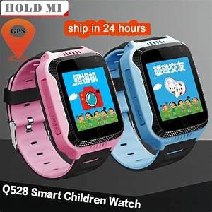 Q528 Y21 Touch Screen Smart Kids Gps Watch With Camera