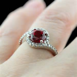 ruby engagement ring ruby engagement rings archives miadonna miadonna simulated diamonds