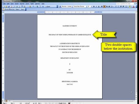title page template word research paper chicago style turabian