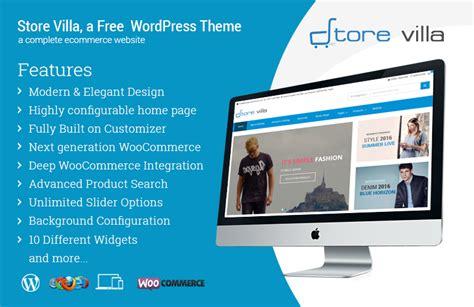 wordpress store woocommerce theme storevilla