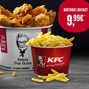 Kfc Birthday Bucket Für 9,99€