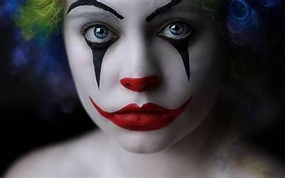 Clown Cool Mask Wallpapers Desktop Eyes Sad