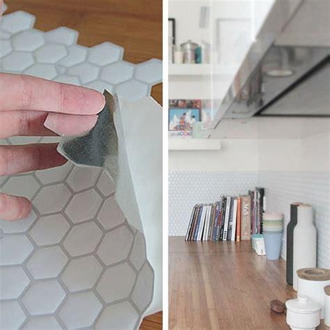 adhesif cuisine carrelage de cuisine adhesif