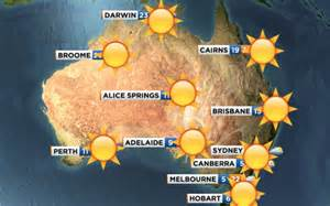 bureau of meteorology australia on the deo australia the weekend will
