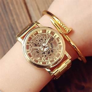 Montre Femme Gros Cadran : relojes hombre 2017 new stainless steel watch montre femme ~ Nature-et-papiers.com Idées de Décoration
