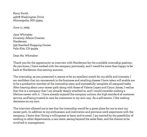 internship thank you letter 10 internship thank you letters sample templates 22569 | Internship Thank You Letter PDF