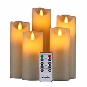 Led Kerzen Echtwachs : led kerzen flammenlose dekoration realistisch flackernde flammen echtwachs timer ebay ~ Eleganceandgraceweddings.com Haus und Dekorationen