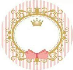 polka dots invitations kit personalizado tema quot coroa rosa menina quot para imprimir