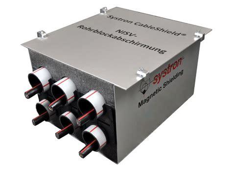 elektromagnetische felder abschirmen magnetfeld abschirmen erdkabel abschirmen hs