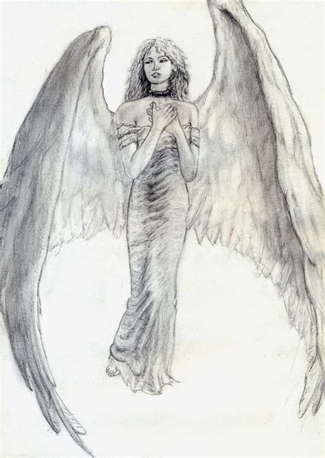 Beautiful Angel Drawing