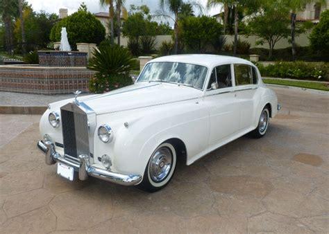 1960 Rollsroyce, White