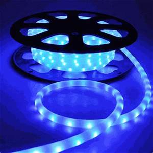 Flex LED Neon Rope Light Blue 50 Holiday Decorative Lighting