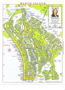 Marco Island Beach Map
