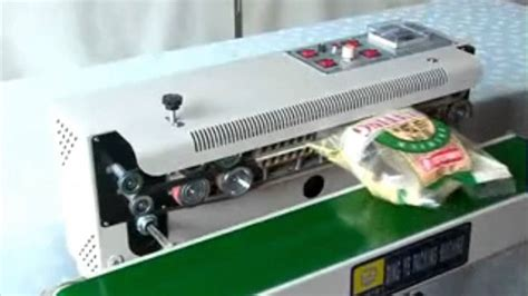automatic continuous plasticfilm sealing machine  foodcosmeticpotato chips youtube