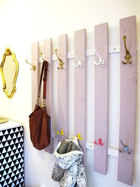Recycling Und Upcycling Inspirationen by Garderobe Diy Upcycling Recycling Dachlatten