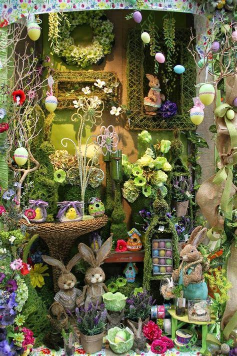 wordless wednesday  spring window displays