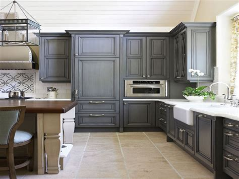 cheap home interiors gray painted kitchen cabinets charcoal grey kitchen