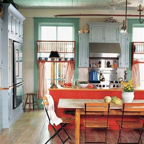 fun kitchen cabinet colors 6 tips to using coral in the kitchen