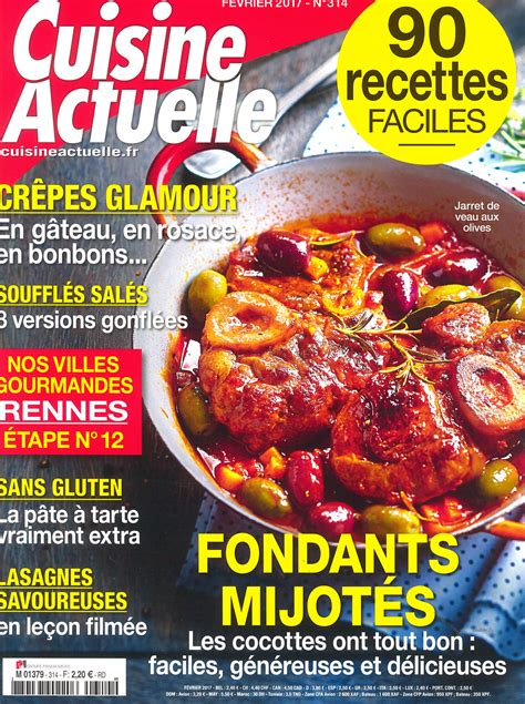 la cuisine actuelle a la découverte de rennes avec le magazine cuisine