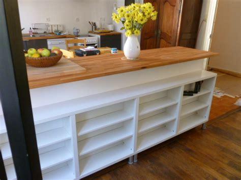 bar pour cuisine ikea bar de séparation avec rangement bidouilles ikea