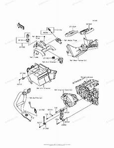 Kawasaki Motorcycle 2017 Oem Parts Diagram For Fuel