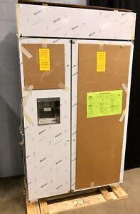 ge monogram  smart built  side  side refrigerator  dispenser ebay