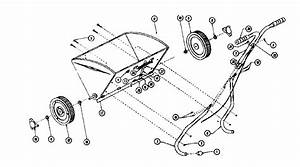 Craftsman Drop Type Spreader Seeder Parts