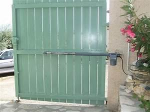 Moteur Portail Electrique : moteur a bras pour portail avec pente ~ Premium-room.com Idées de Décoration