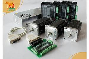 Cnc Router Kits 3axis Nema 23 Stepper Motor 425oz