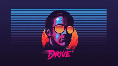 Hotline Miami 2 Background Ryan Gosling Drive Sunglasses New Retro Wave Hd Wallpapers Desktop And Mobile Images Photos
